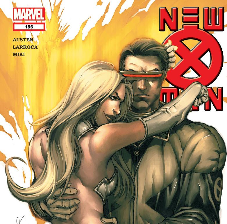 Scott and Emma in New X-Men