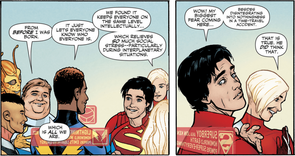 Superboy and the Legion of Super Heroes by Bendis