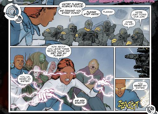 Legion of Super-Heroes lightning lass