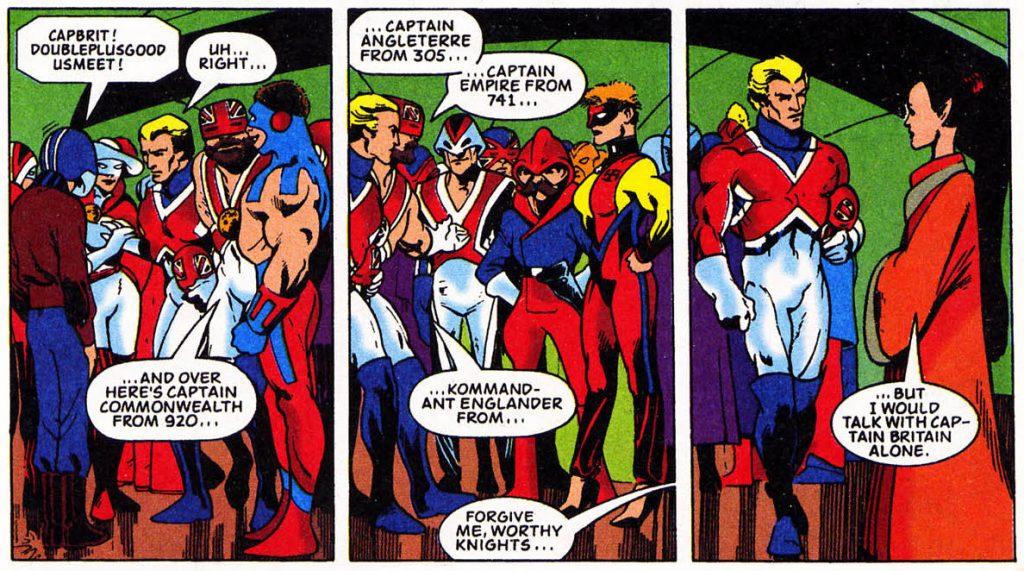 The Captain Britain Corps