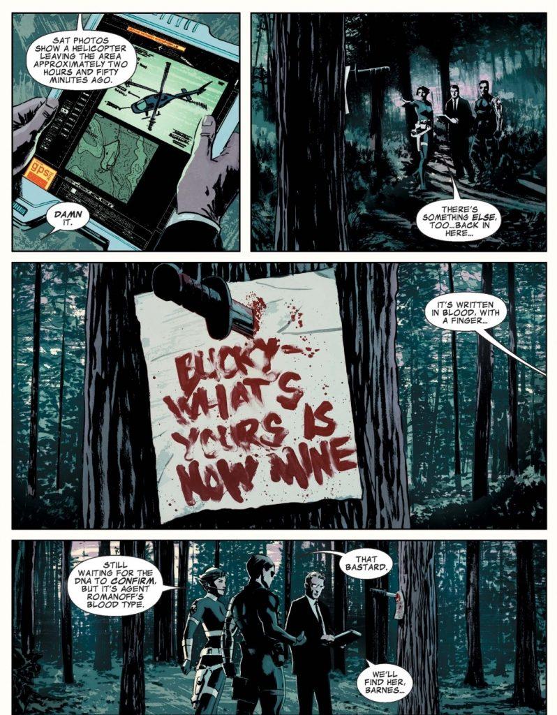 Winter Soldier Bucky by Ed Brubaker
