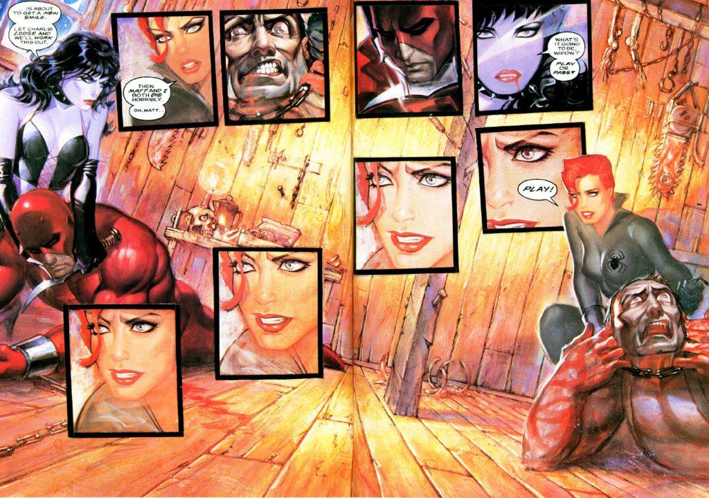 Black Widow's Abattoir graphic novel