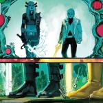 Magik and Doug Ramsey in New Mutants #13