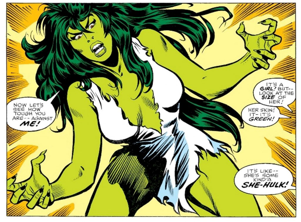 She-Hulk Jennifer Walters Origins