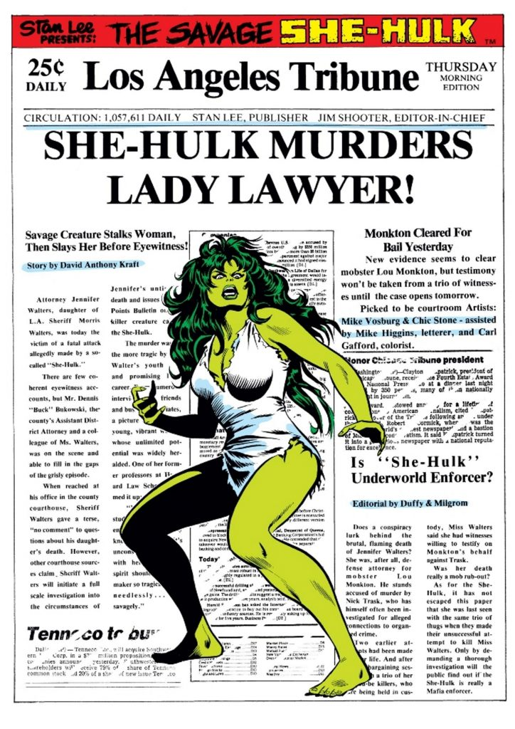 Savage She-Hulk cover