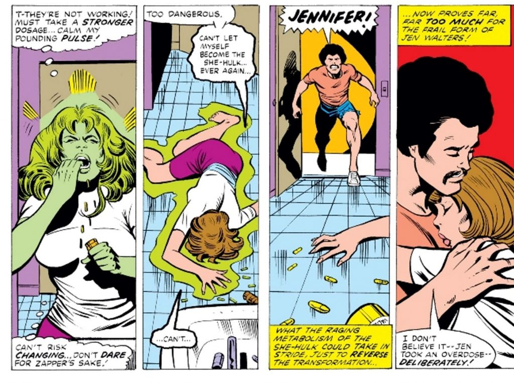 She-Hulk and Zapper
