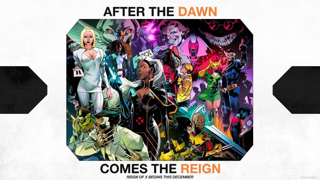 Marvel Reign of X X-Men Promo