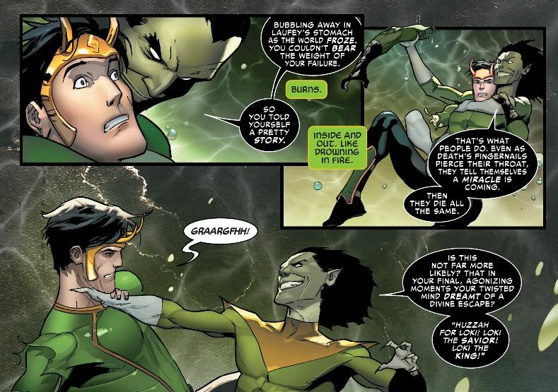 Loki vs Nightmare