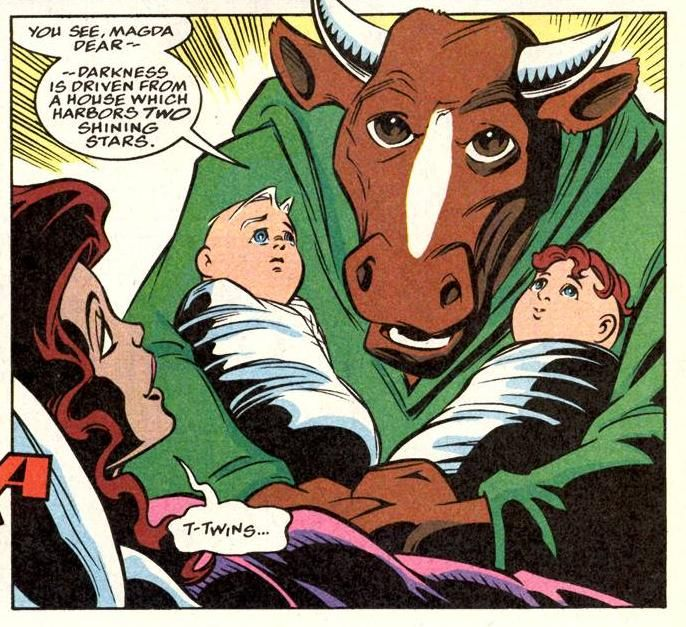 Bova delivers Scarlet Witch's twins
