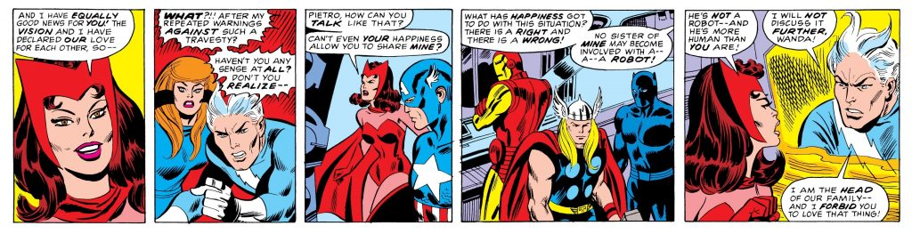Avengers 110 Quicksilver and Scarlet Witch