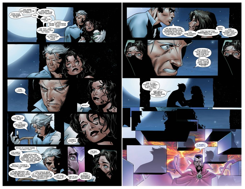 Quicksilver and Scarlet Witch in House of M