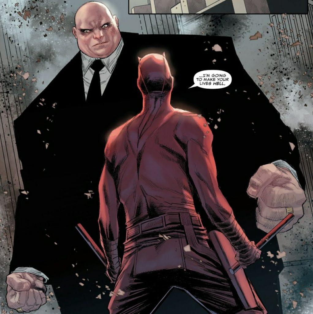 Daredevil and Kingpin by Chip Zdarsky