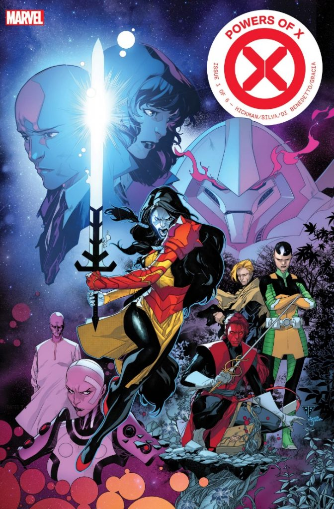 Powers of X #1 cover