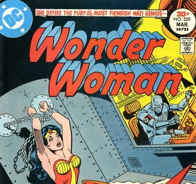 Golden Age Wonder Woman covers