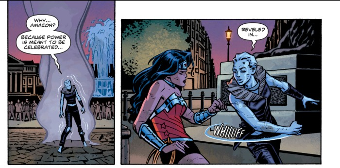 Wonder Woman and Moon in DC New 52