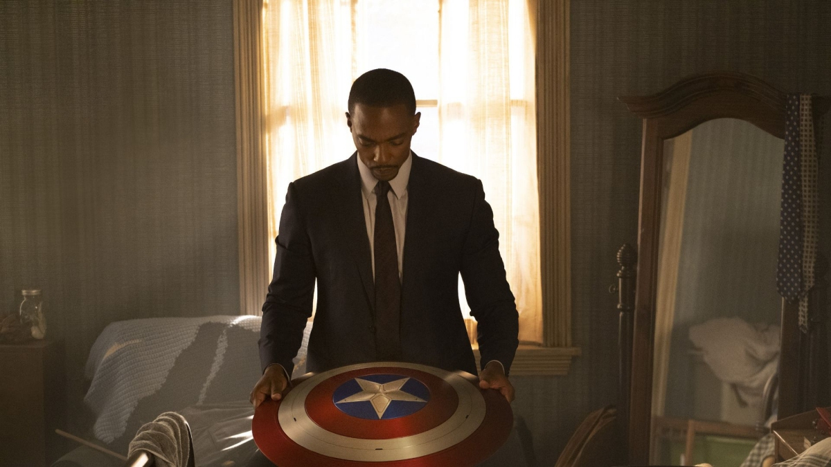 Sam Wilson in the MCU as Captain America