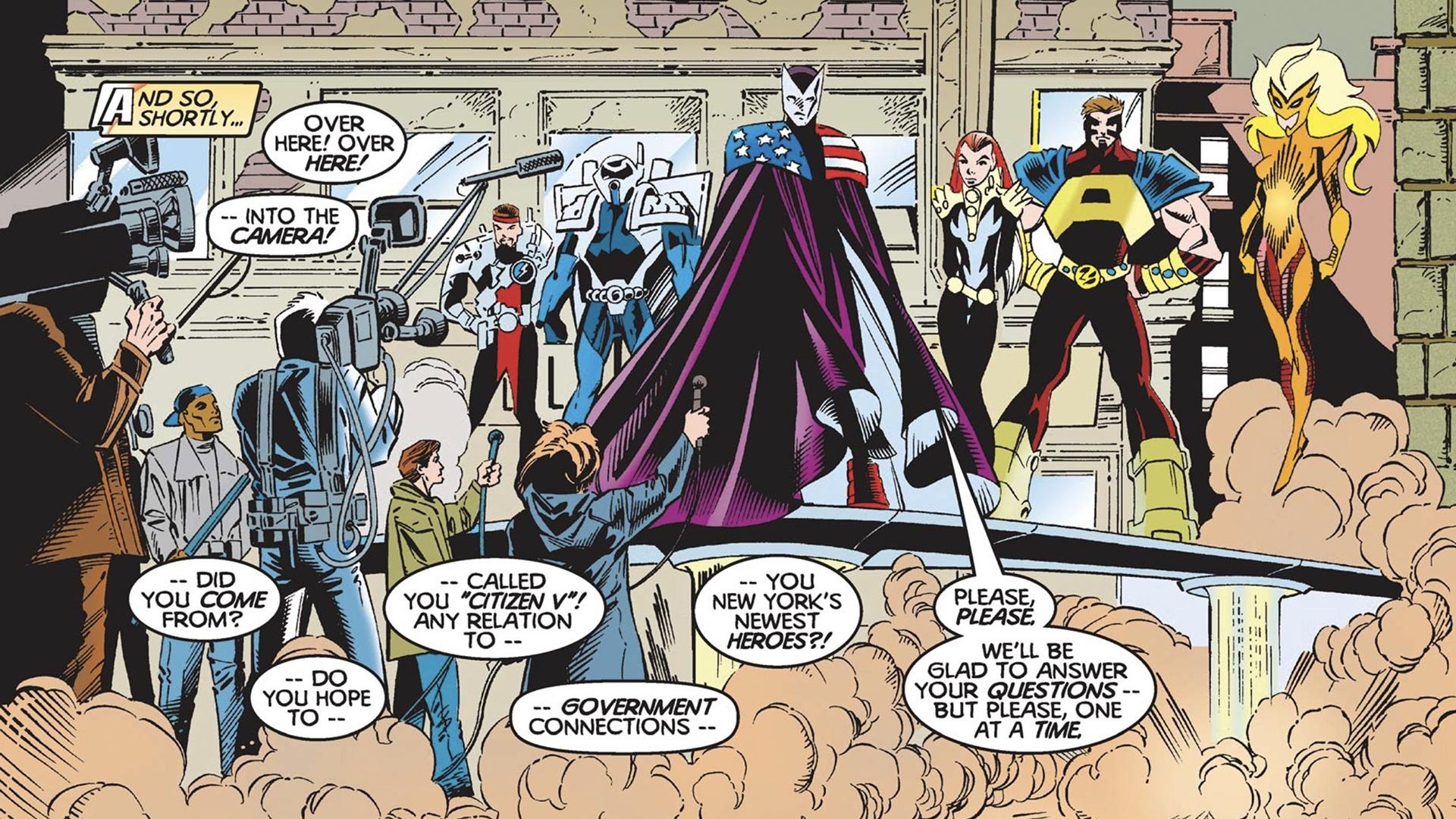 Thunderbolts by Kurt Busiek comics