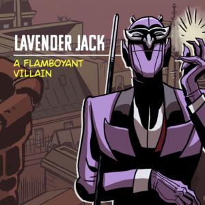 Lavender Jack comics