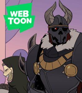 Suitor Armor on webtoons