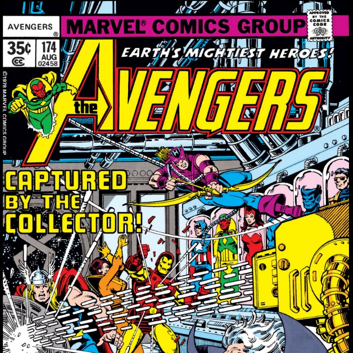 Hawkeye vs the Cosmic Collector