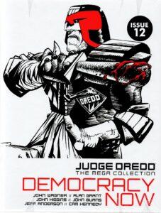 Judge Dredd Democracy comics