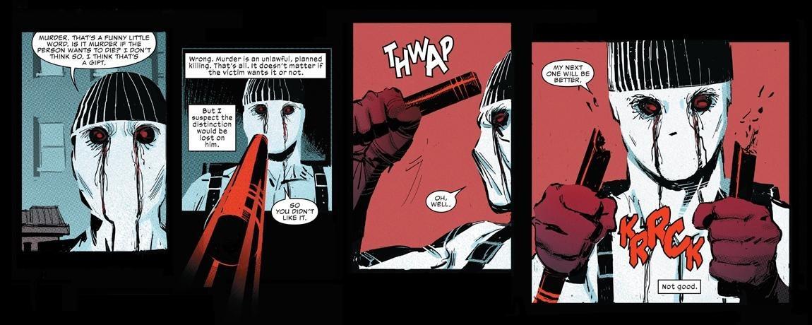 Muse a new supervillain in Daredevil comics