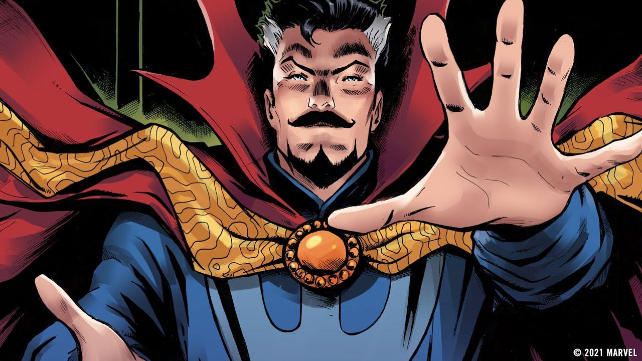 Death of Doctor Strange comic book