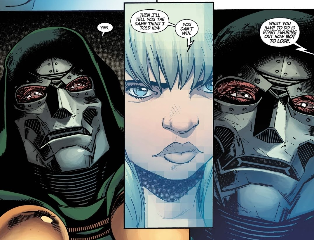 Valeria and Doctor Doom how not to lose
