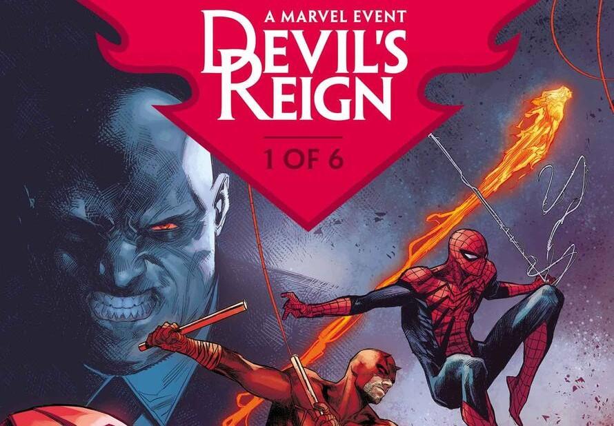 Marvel Devil's Reign event comics