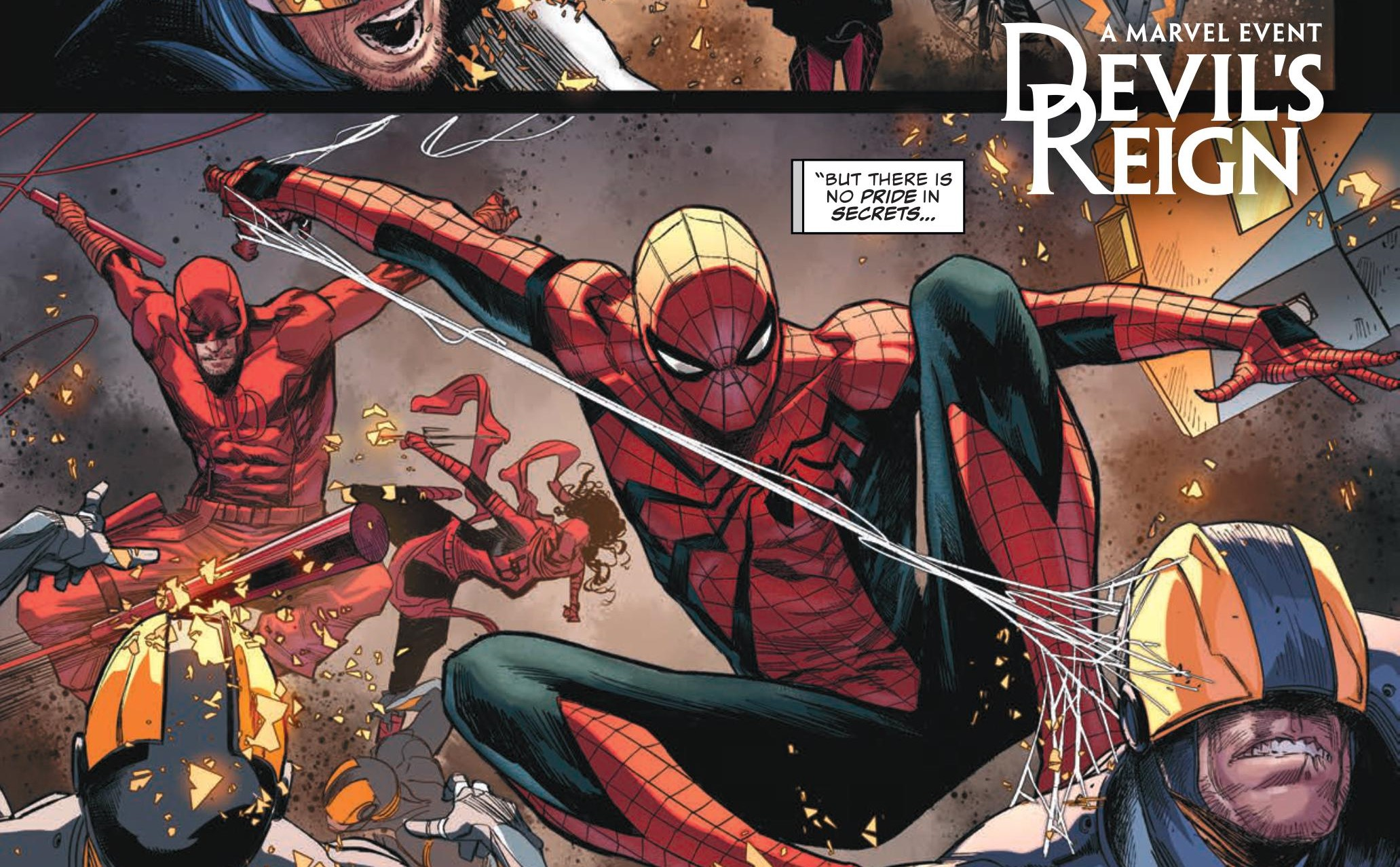 Daredevil and Spider-Man in Devil's Reign
