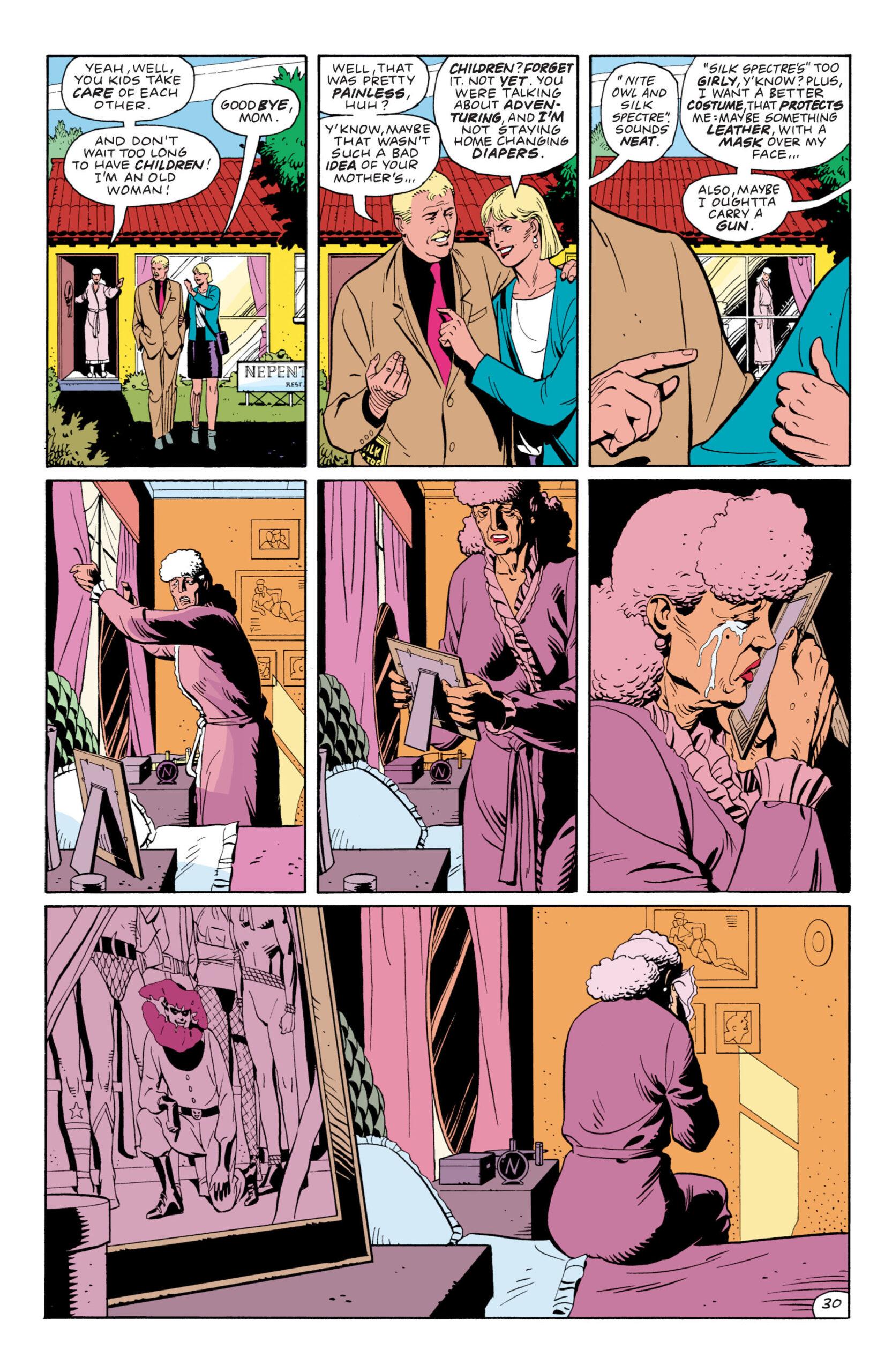 Sally Jupiter in Watchmen